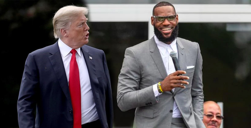Donald Trump says he does not think Le Bron is very good at basketball