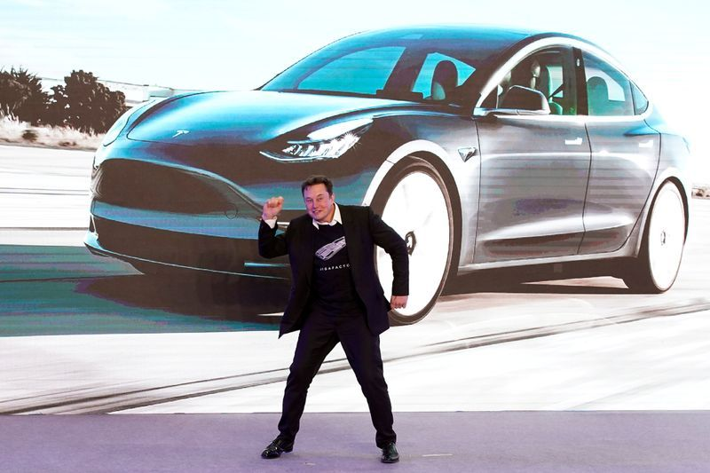 Elon Musk is now the fourth richest man after a boom in the share price of the Tesla