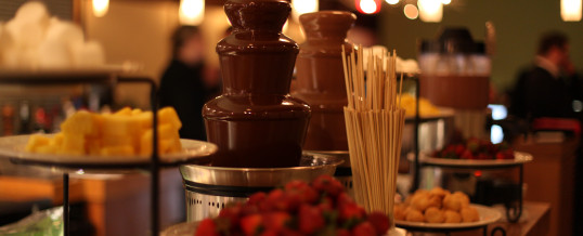 More Party Ideas: Hire a Chocolate Fountain for a Taste of Luxury
