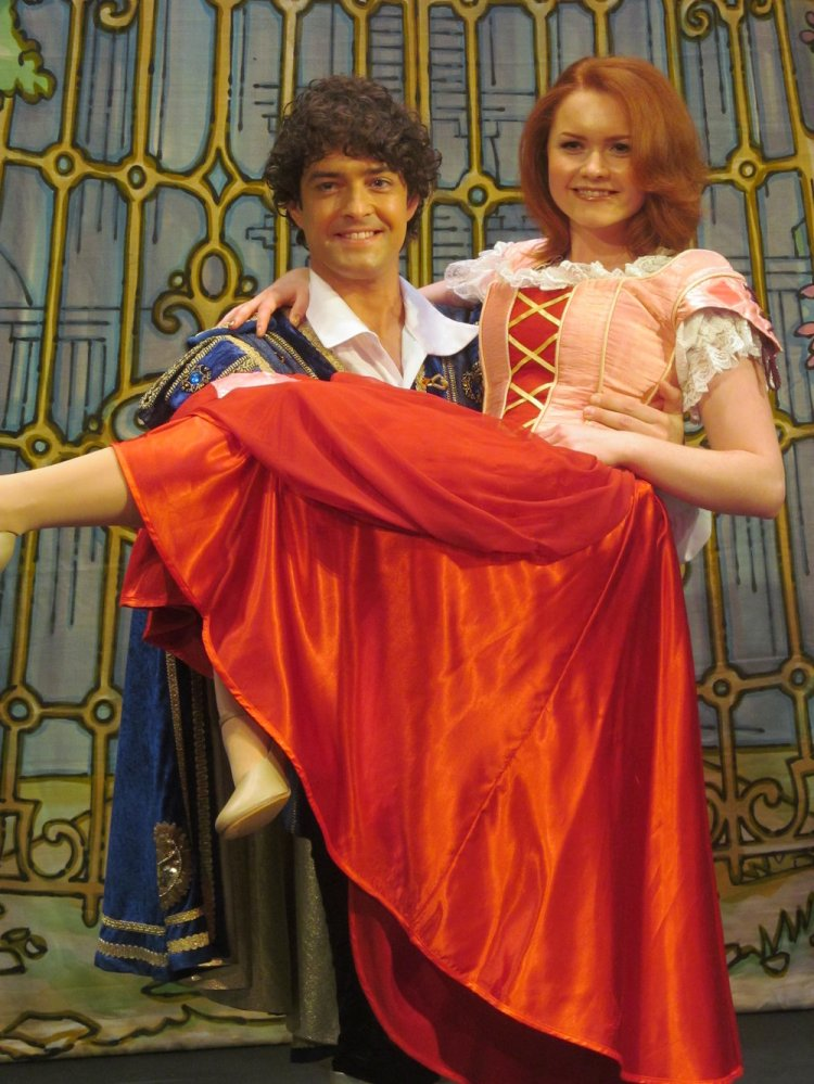 Lee Mead and Holly Bluett will play Prince Charming and Cinderella at Cardiff New Theatre's Christmas 2014 pantomime, Cinderella. Photo: Andy Howells