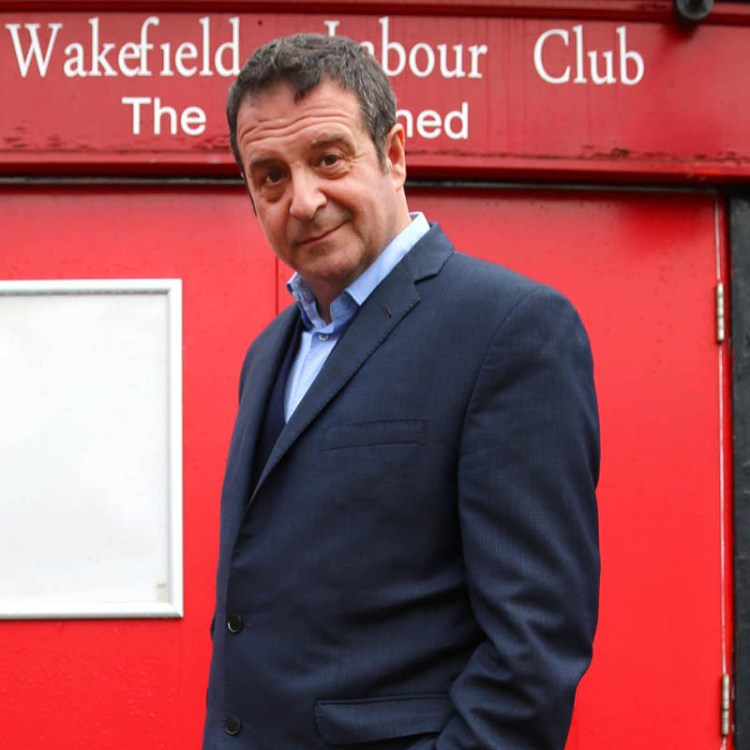 Mark Thomas pictured by Tracey Moberley