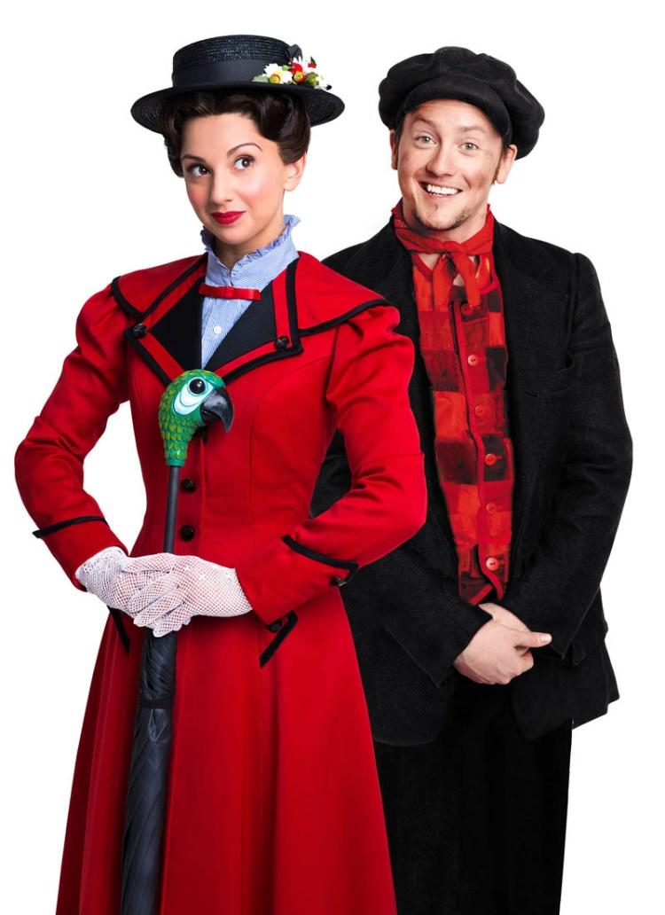 Zizi Strallen and Matt Lee in Mary Poppins