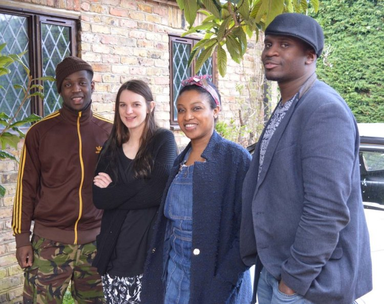 Camilla George and her band