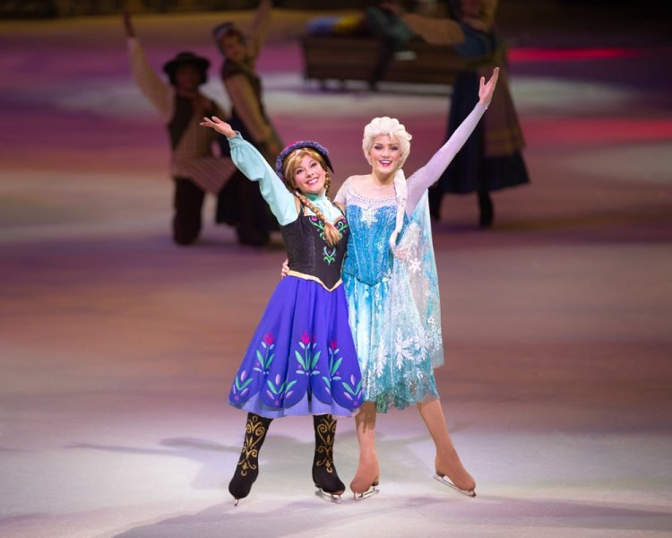 Frozen as featured in Disney On Ice