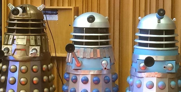The Daleks were also present at Doctor Who - The Finale Countdown at Wales Millennium Centre