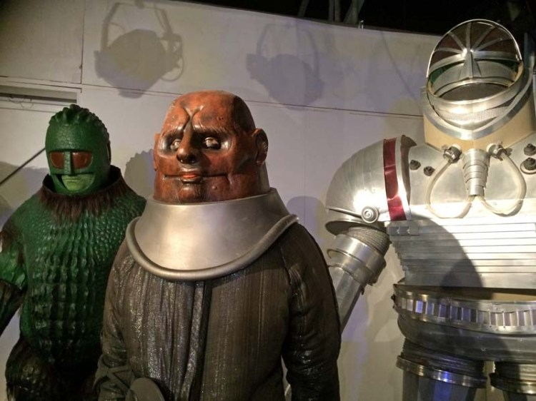 Classic monsters line-up at The Doctor Who Experience