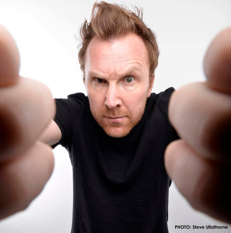 Jason Byrne is touring with his show, The Man With Three Brains Photo: Steve Ullathorne