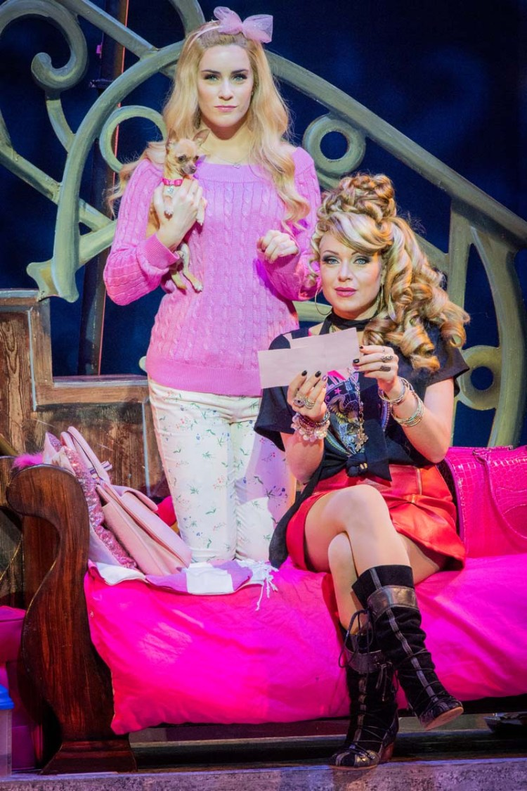 Lucie Jones and Rita Simons in Legally Blonde