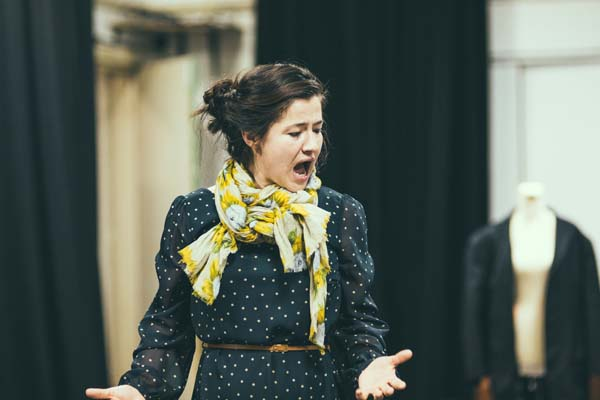 Louise Collins stars as Jennie Lee in Nye and Jennie Photo by Simon Gough