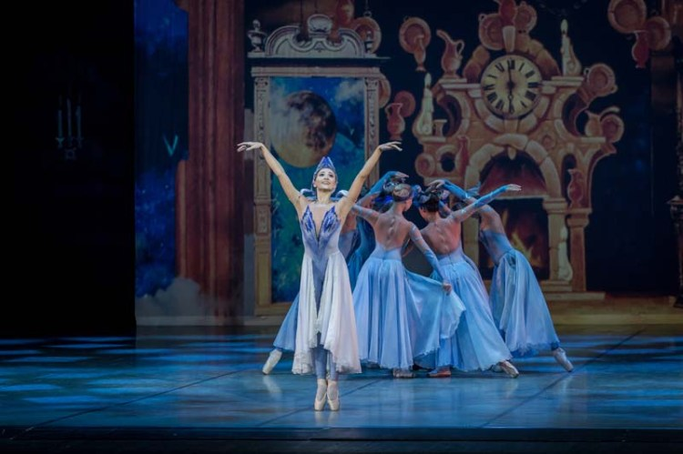 A scene from Cinderella presented by Ekaterina Bulgutova from the Russian State Ballet of Siberia