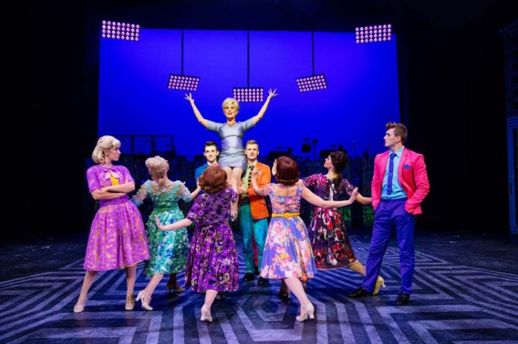 A dance scene from Hairspray The Musical