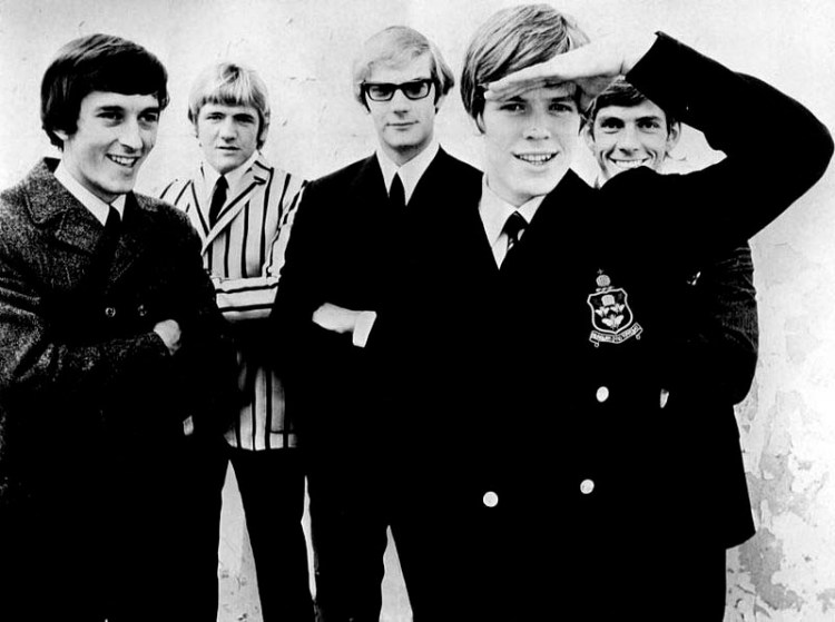 Herman's Hermits in the 1960s featuring Keith Hopwood, Karl Green, Derek Leckenby, peter Noone and Barry Whitwam PICTURE: Wikimedia Commons