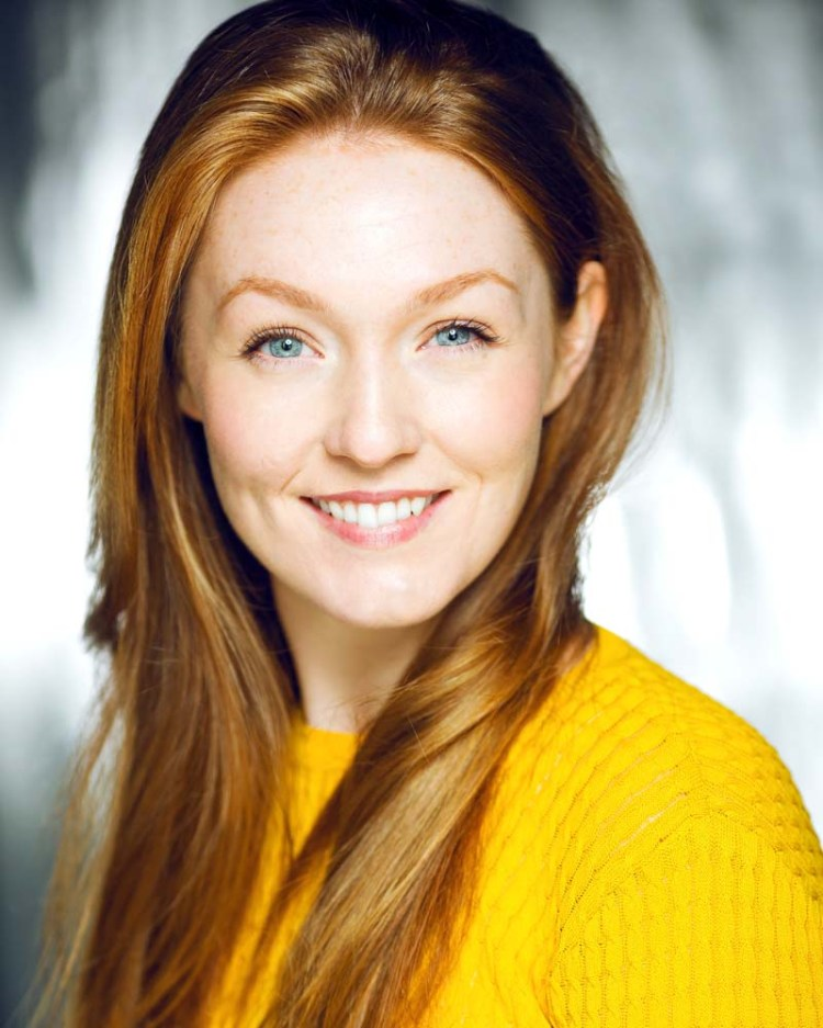 Lucy O'Byrne stars as Maria Von Trapp in the UK tour of The Sound of Music produced by Bill Kenwright.