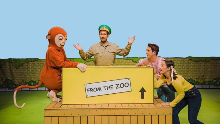 A new stage production of Rod Campbell's Dear Zoo will play Swansea during May