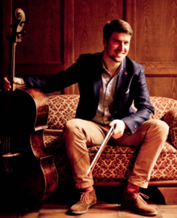 Arne-Christian Pelz will perform at the Spring concert at St Woollos Cathedral on Saturday 14th April 2018.
