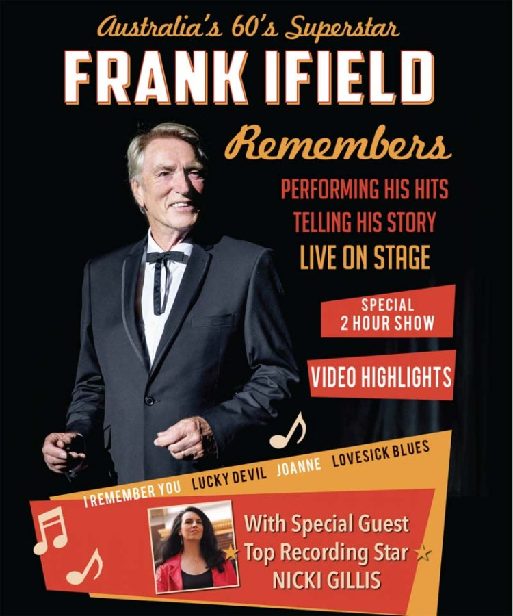 Frank ifield's show  Frank ifield & Friends  is currently touring the UK