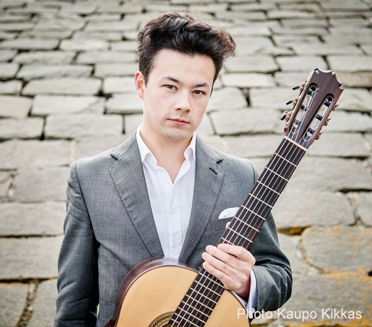 Sean Shibe plays a Lunchtime Concert at St David's Hall, Cardiff in 2019