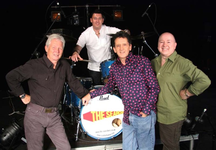 The Searchers (from left to right) John McNally, Scott Ottaway, Frank Allen and Spencer James will be making their final package tour appearances on the autumn 2018 Sixties Gold shows before heading out on their final tour in spring, 2019.