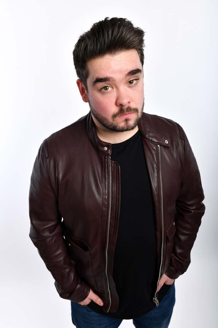 Rising comedy star Adam Rowe brings his show  Undeniable  to Cardiff's Glee Club on October 28, 2018. Photos by Steve Ullathorne