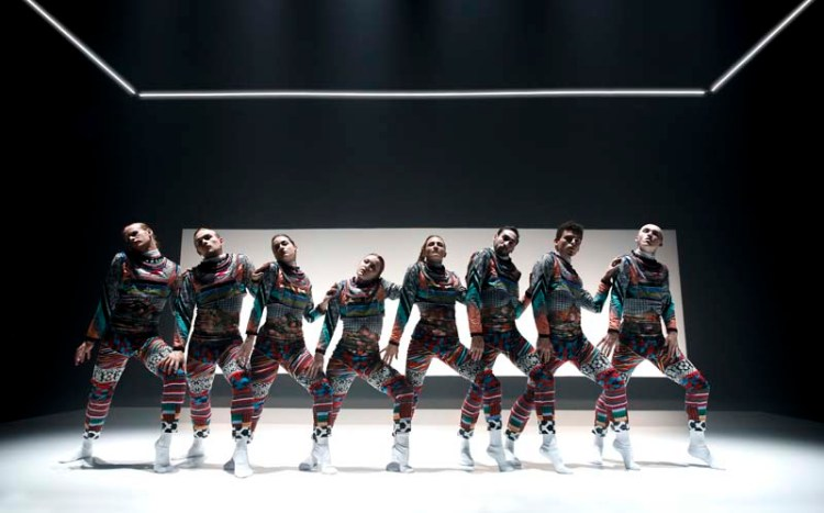 Tundra  forms part of National Dance Company Wales'  Awakening  Picture: Rhys Cozens