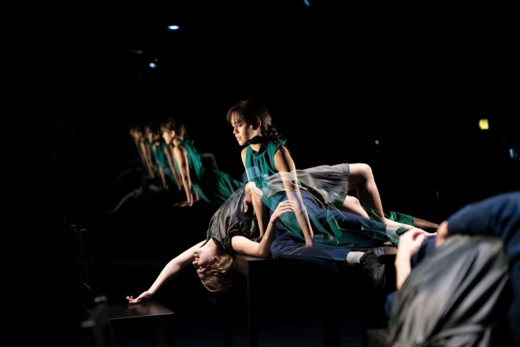 Afterimage features in National Dance Company Wales' Awakening. Photos by Rhys Cozens.