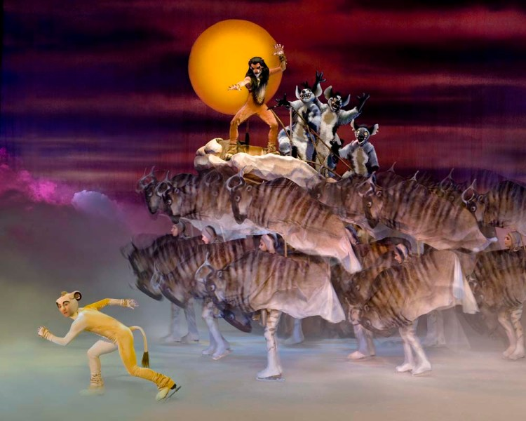 The Lion King   forms part of Disney on Ice at Cardiff's Motorpoint Arena which runs from April 24 - 28, 2019