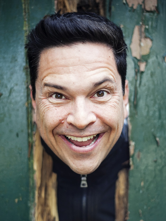 Dom Joly stars as The Narrator in Rocky Horror Picture Show at The Bristol Hippodrome