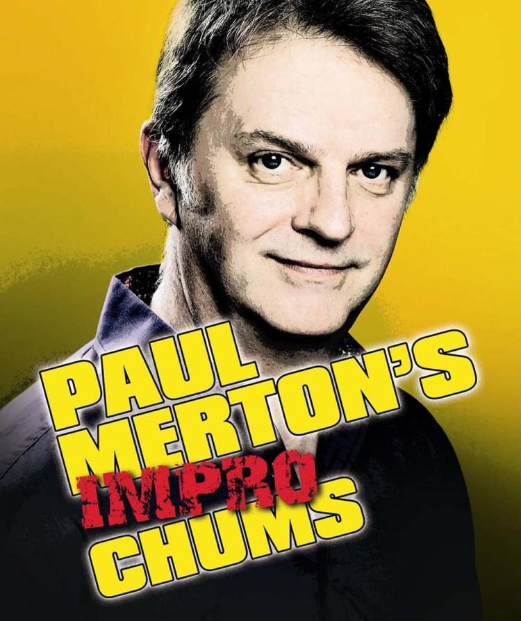 Paul Merton's Impro Chums at Newport Riverfront on June 7, 2019