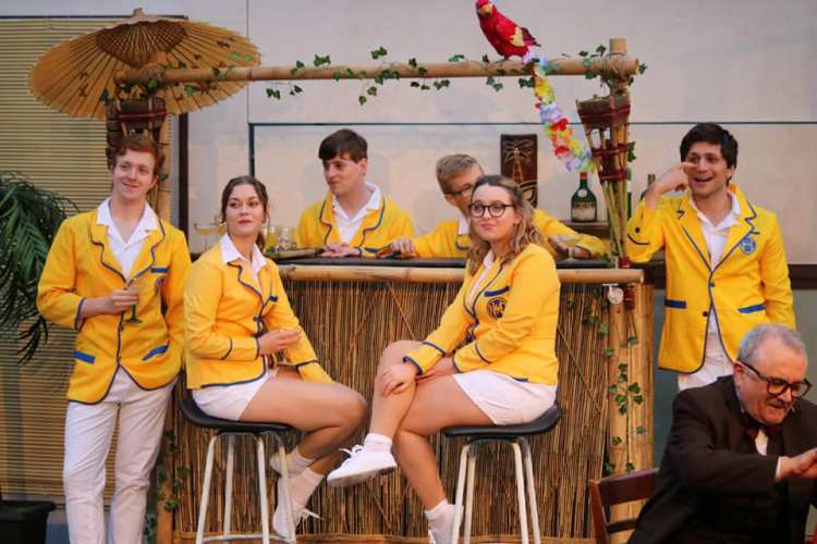 Hi-De-Hi! ensemble cast members in Everyman Theatre's presentation of  Hi-De-Hi!  which opens the Cardiff Open Air Theatre Festival summer season at Sophia Gardens from June 27 to July 6, 2019.