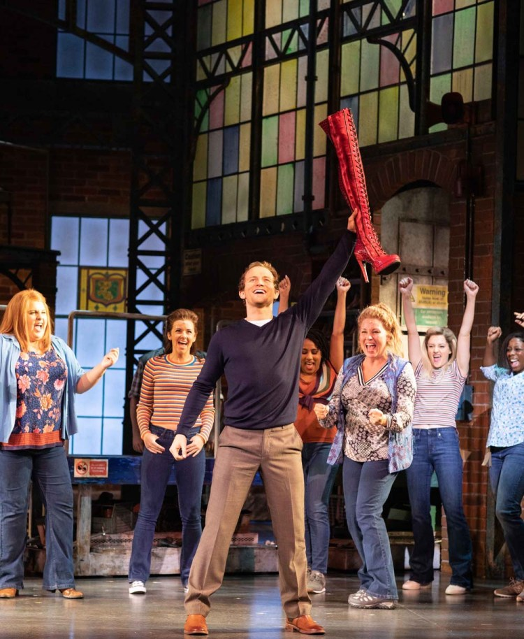 The UK tour of Kinky Boots takes to the stage of Cardiff's Wales Millennium Centre from July 22 until August 3, 2019.
