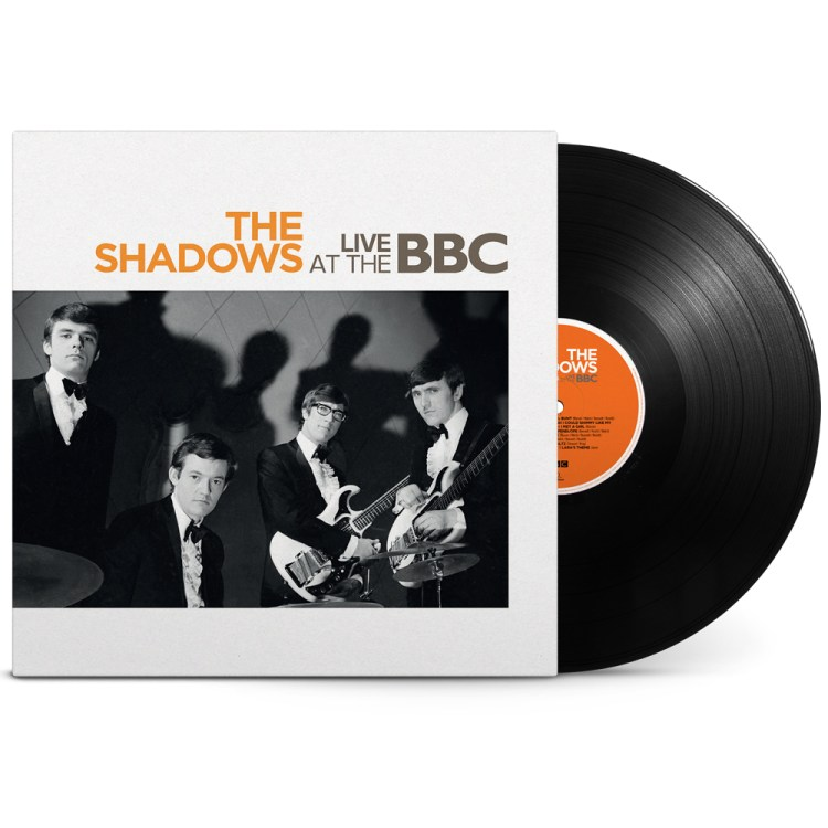 The Shadows Live at The BBC will be released on vinyl by Rhino Records