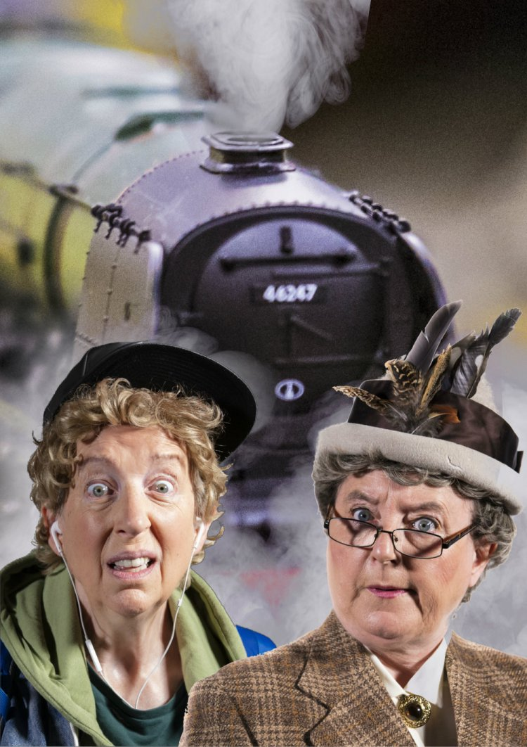 Lip Service's Strangers on a Train Set is among the theatrical presentations at Abergavenny Borough Theatre during autumn 2019.
