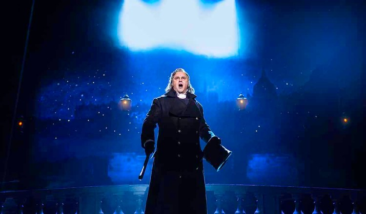 Nic Greenshields as Javert in Les Miserables, which plays The Bristol Hippodrome from Tuesday 7 April – Saturday 9 May 2020.. Photo Matthew Murphy