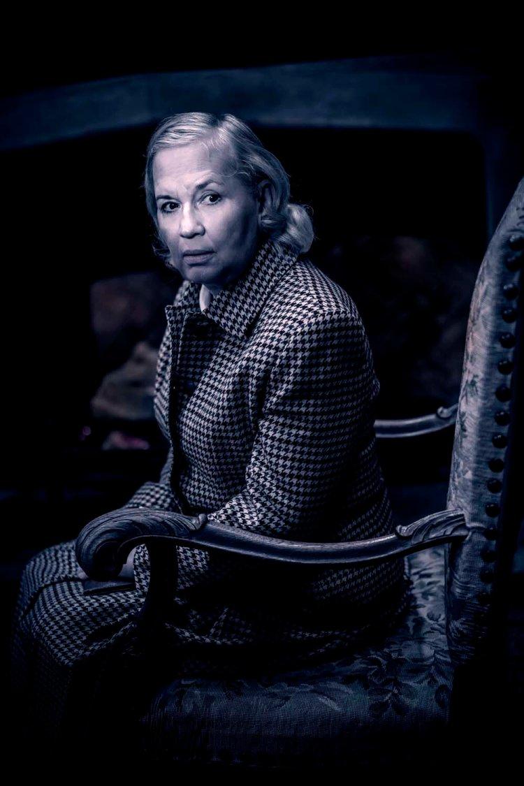Susan Penhaligon in The Mousetrap (Photo by Johann Persson)