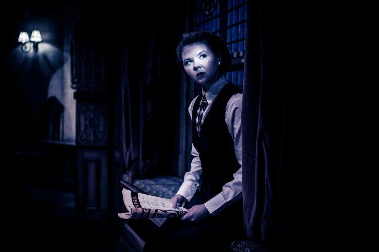 Saskia Vaigncourt-Strallen in The Mousetrap Photo by Johan Persson