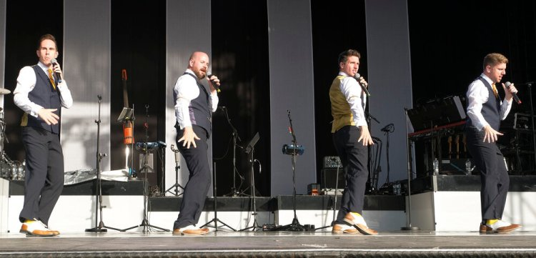 The FlyBoys played Newport's Riverfront Theatre on October 31, 2019