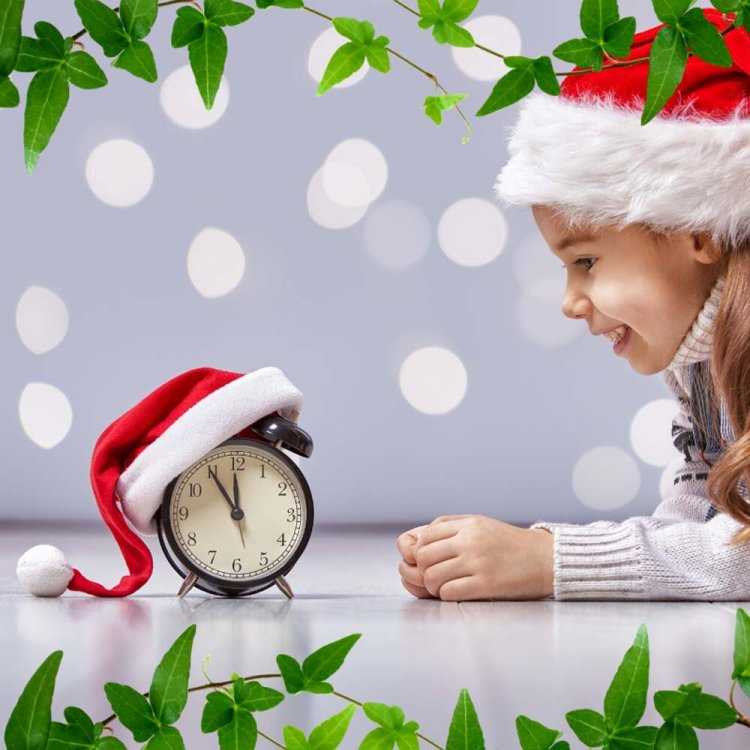 The Christmas Clock at Wales Millennium Centre for Christmas 2019