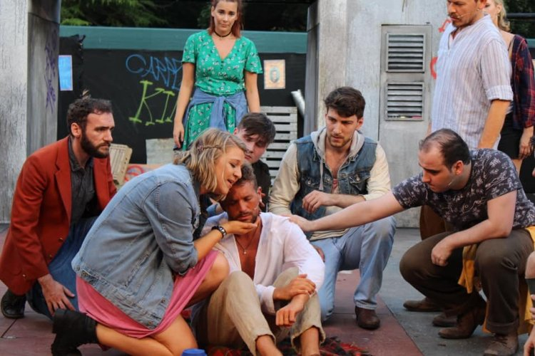 Everyman Theatre concluded their 2019 open air season with a presentation of  Jesus Christ Superstar