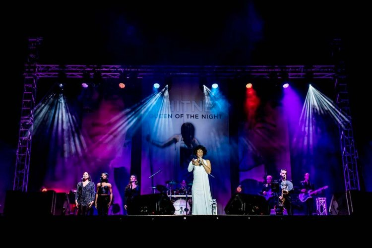 Whitney - Queen of the Night   will play the ICC Wales Auditorium on Saturday, May 2.