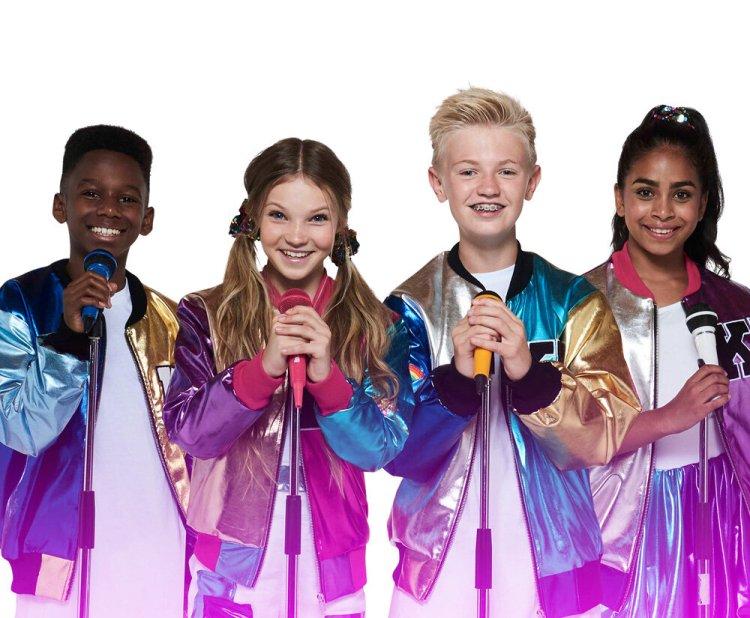 Kidz Bop UK stars Ashton, Mia, Max and Twinkle head to Cardiff's St David's Hall on April 16, 2020.