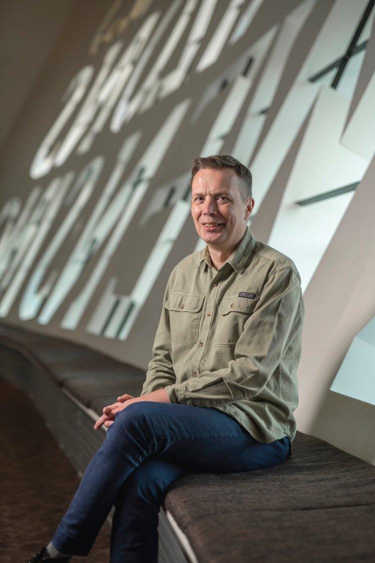 Wales Millennium Centre's Artistic Director Graeme Farrow