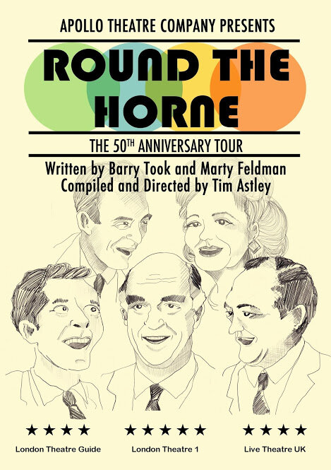 Round The Horne is revived for the stage at Cardiff's New Theatre from February 18-19 2020.