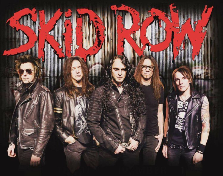 Skid Row appear t Castle Roc on Friday 14th August, 2019