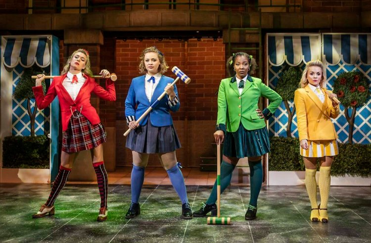 Carrie Hope Fletcher was among the stars of Heathers at The Other Palace, London in 2018 Photo: Pamela Raith Photography