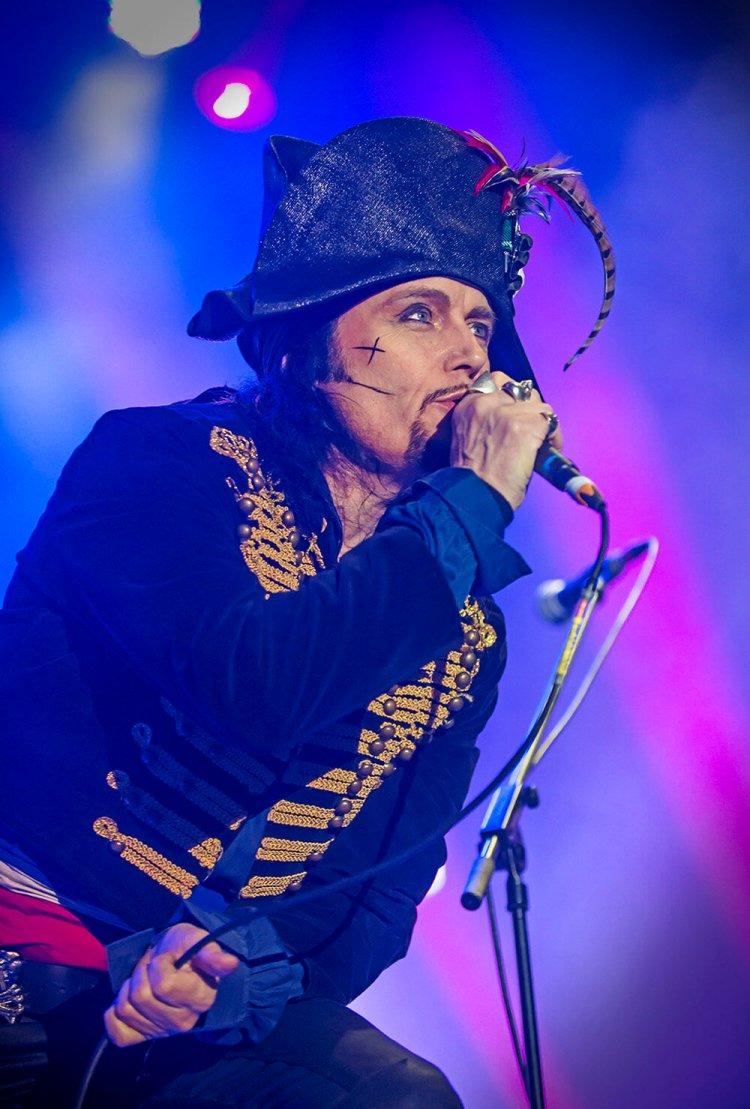 Adam Ant features in the 2021 Lets Rock Wales line-up. Photo: Lets Rock