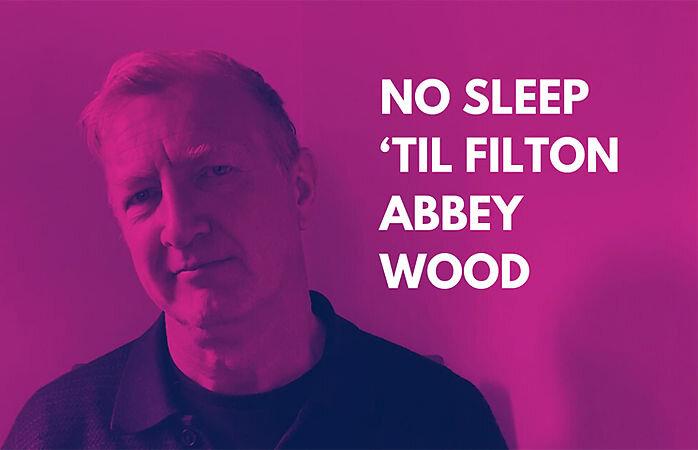 No Sleep Til' Filton Abbey Wood  stars Stefan Rhodri Photo: Sherman Theatre