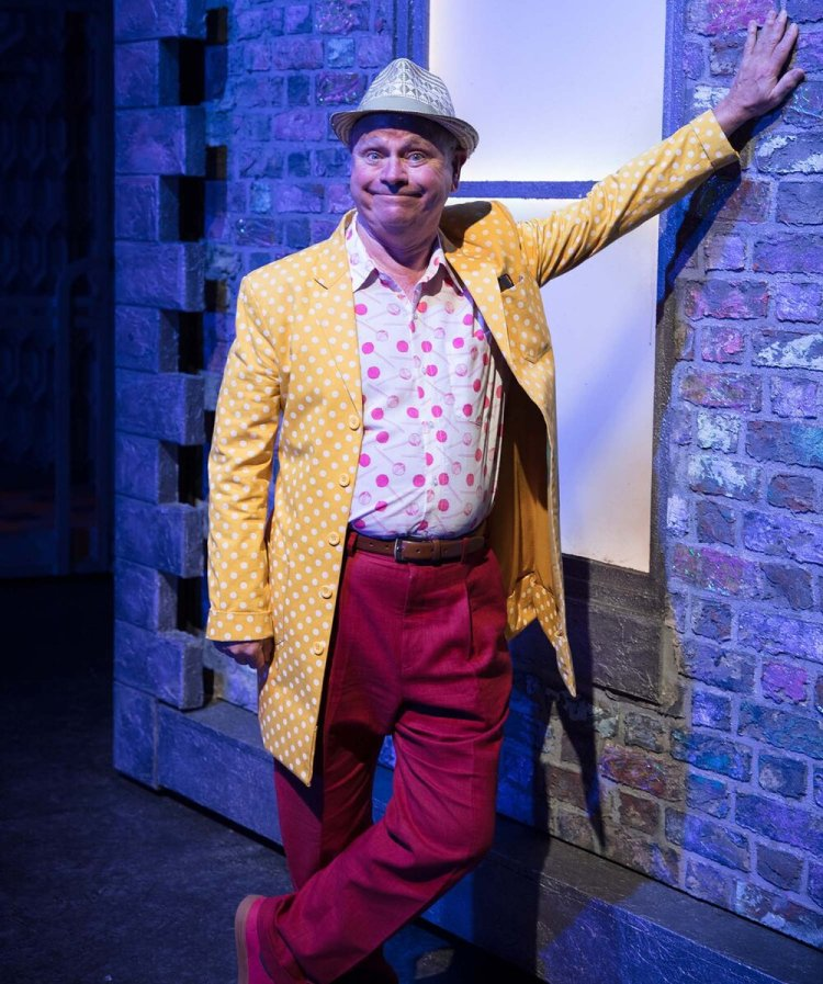 Norman Pace as Wilbur Turnblad in the UK tour of Hairspray from 2017