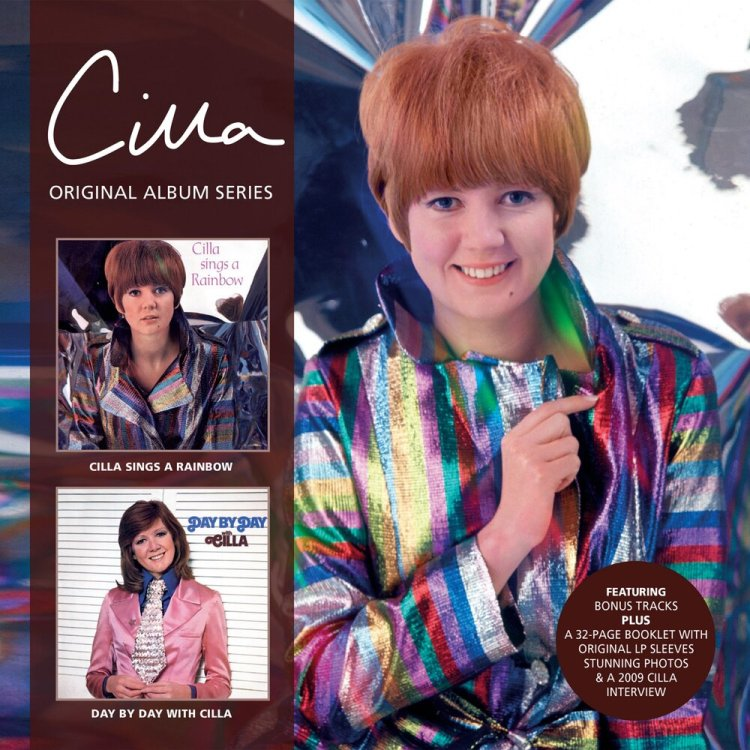 Cilla Sings A Rainbow and day By Day form part of the Cilla Original album Series released by SSE via Cherry Red.