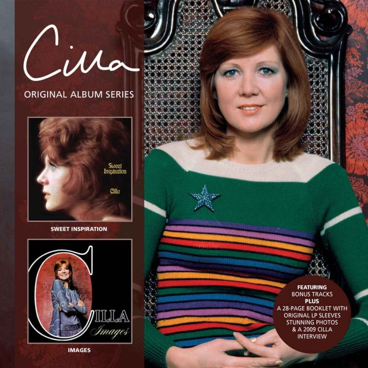 Cilla Black's Sweet Inspiration and  Images  are now available  as an expanded release via Cherry Red Records.