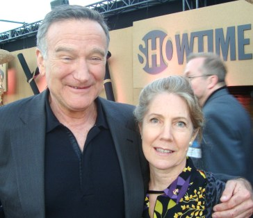 Robin Williams,  photo by Margie Barron